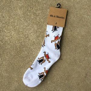 40s & Shorties Twerk Socks